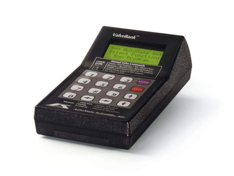 ValveBank Keypad