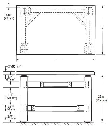 TMC CleanBench Air Table | AutoMate Scientific