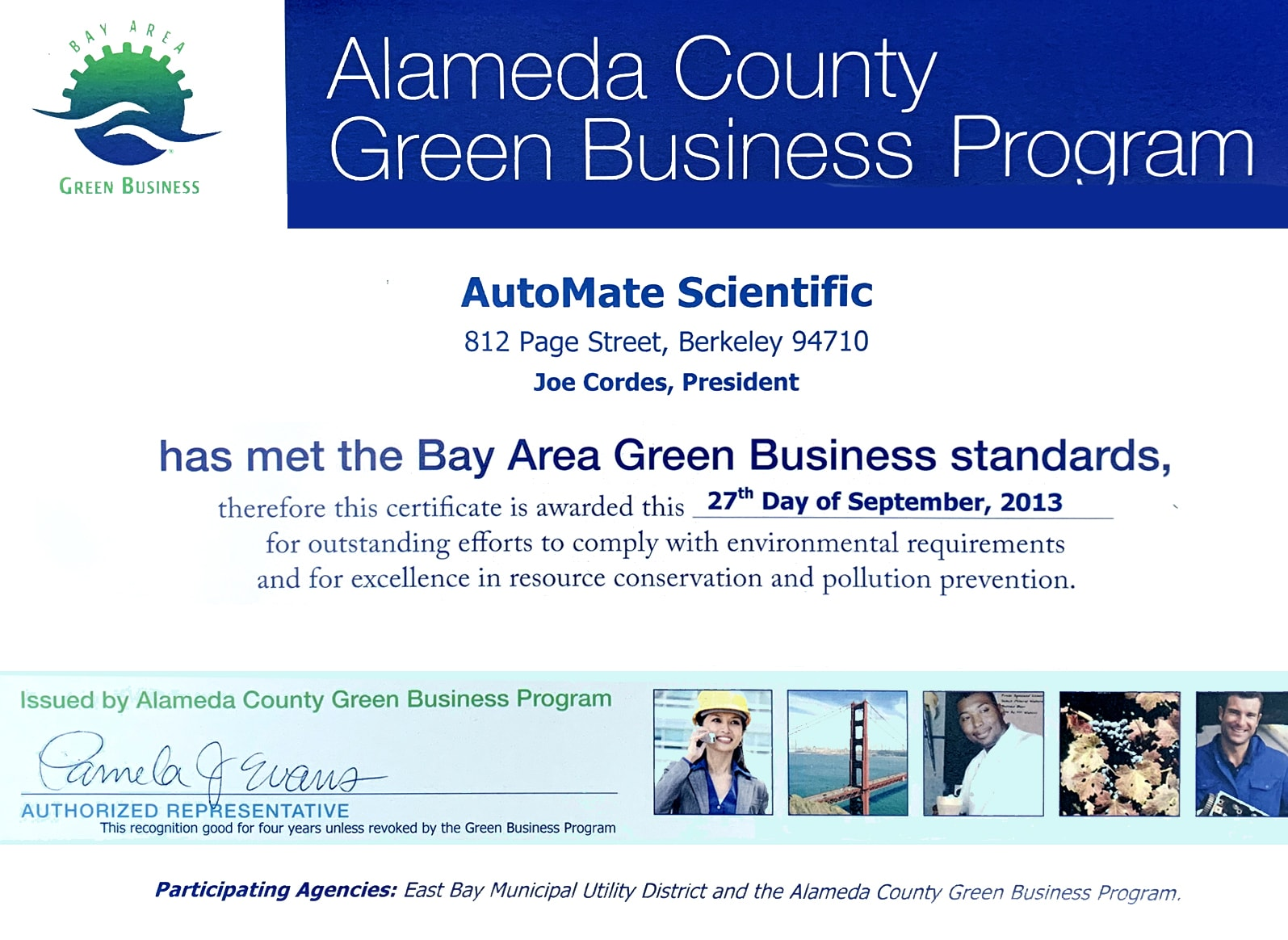 Green Business Alameda