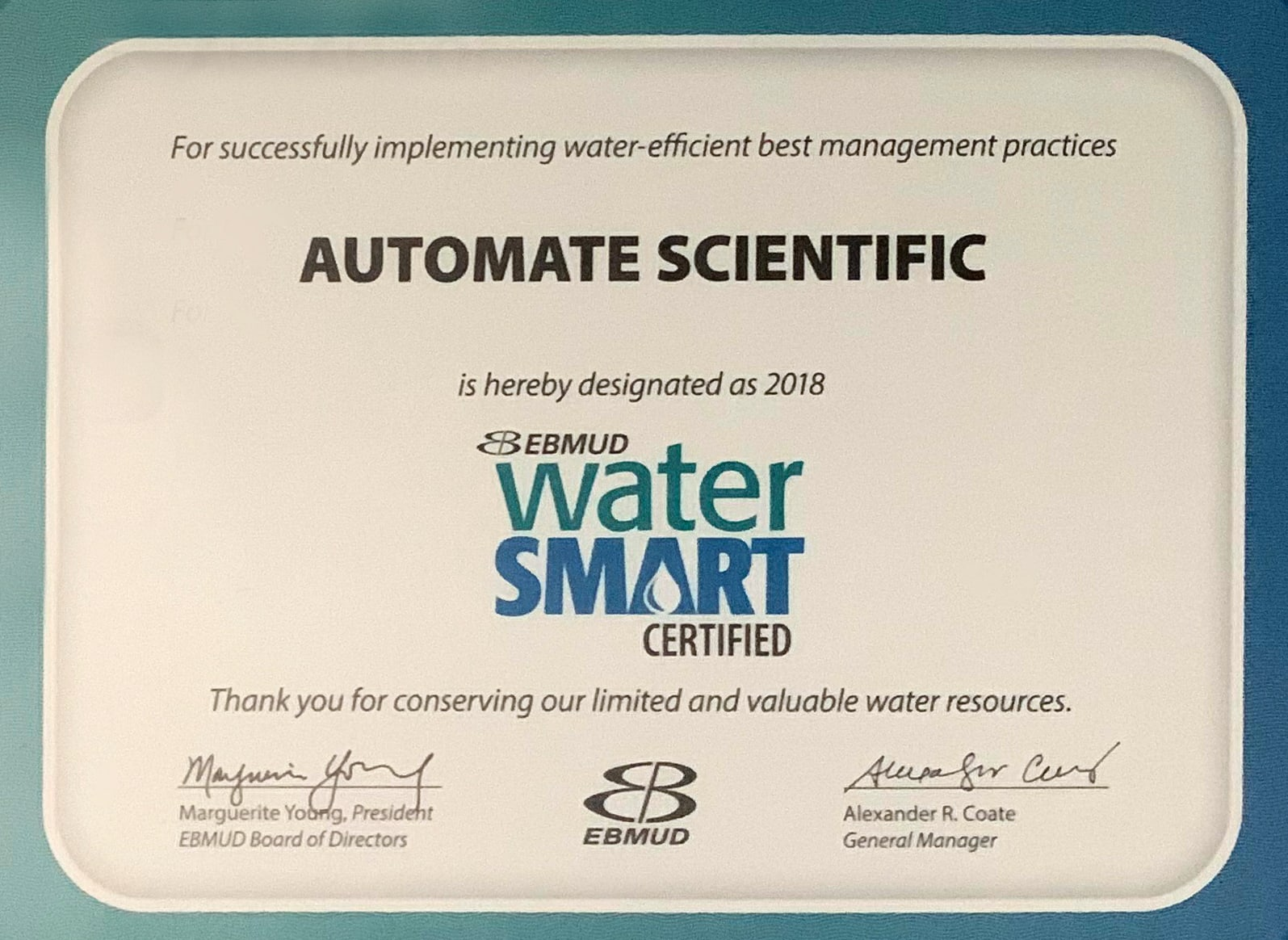 Water Smart EBMUD